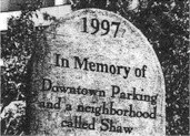 Shaw Coalition tombstone symbol
